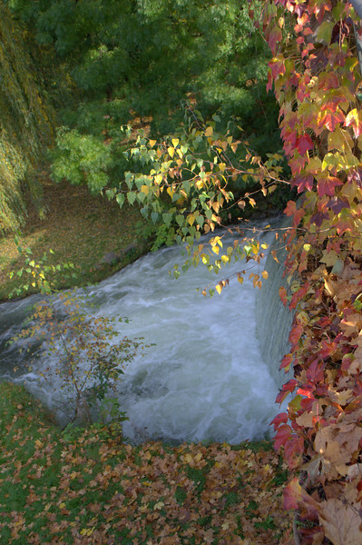 English Park river falls