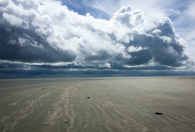 Approaching storm, North Beach, Seabrook Island