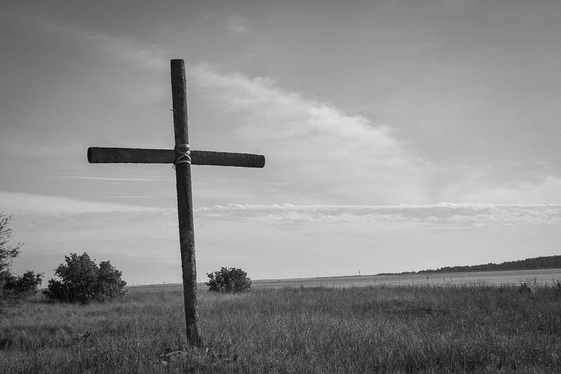 Cross On The Dunes, Seabrook Island