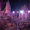 Hogwarts Castle.  Harry Potter Tour and Exhibition.  London, England. UK Vacation 2014-07-18