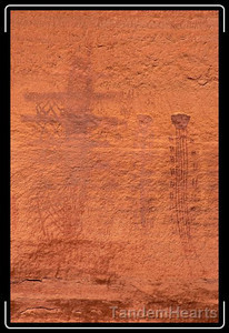 Ancient graffiti.