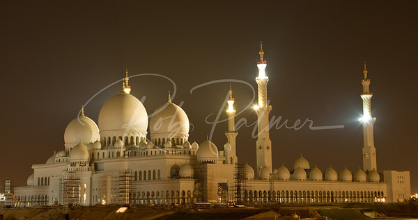 Mosque in Abu Dhabbi UAE