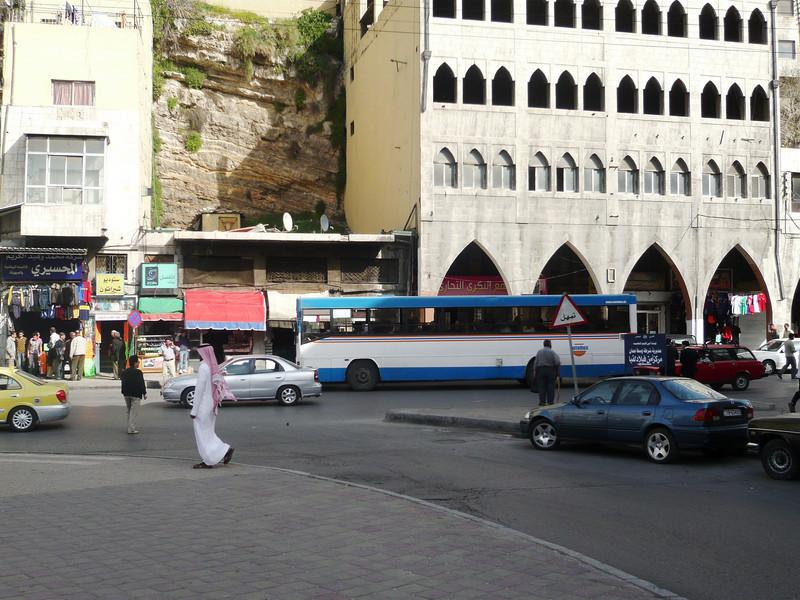 Quraysh Street in Amman.