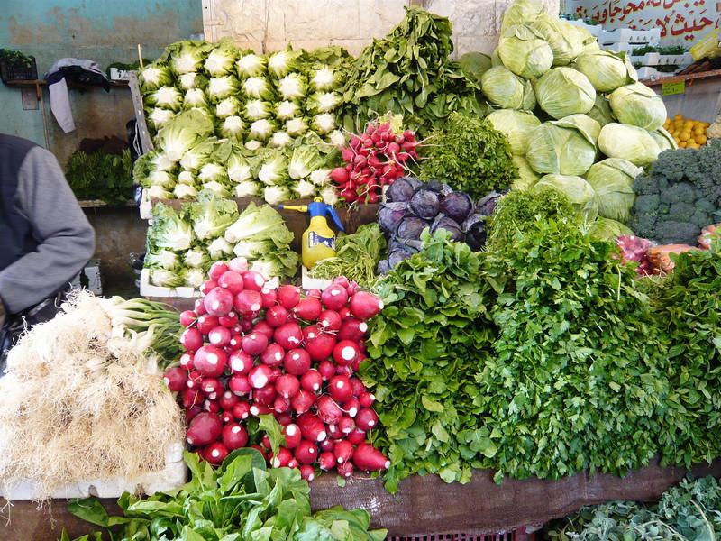 Colorful veggies...