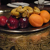 After all of that food, it was a good thing dessert was a fruit platter...