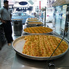 Tasty, crispy and freshly prepared baklava...