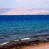 View of the Israeli coastline from Aqaba.