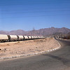 A train passing through Aqaba.