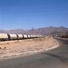 A train passing through Aqaba.