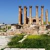 This is the Temple of Artemis, who was the patron goddess of the city of Jerash.