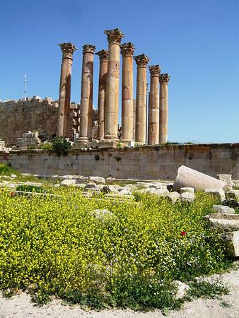 Jerash, Jordan - April 2009