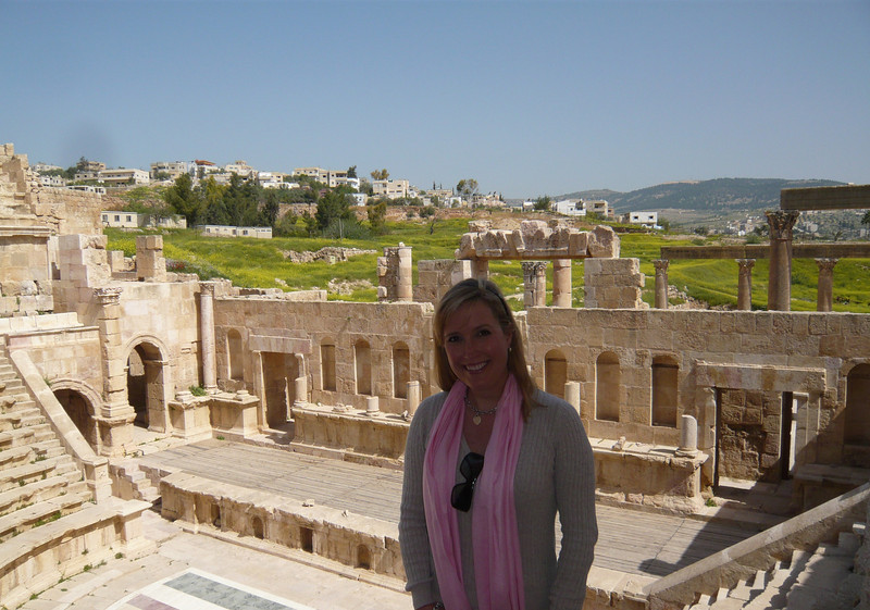 The North Theater at Jerash is one of the best ancient theaters I have seen in a long time.