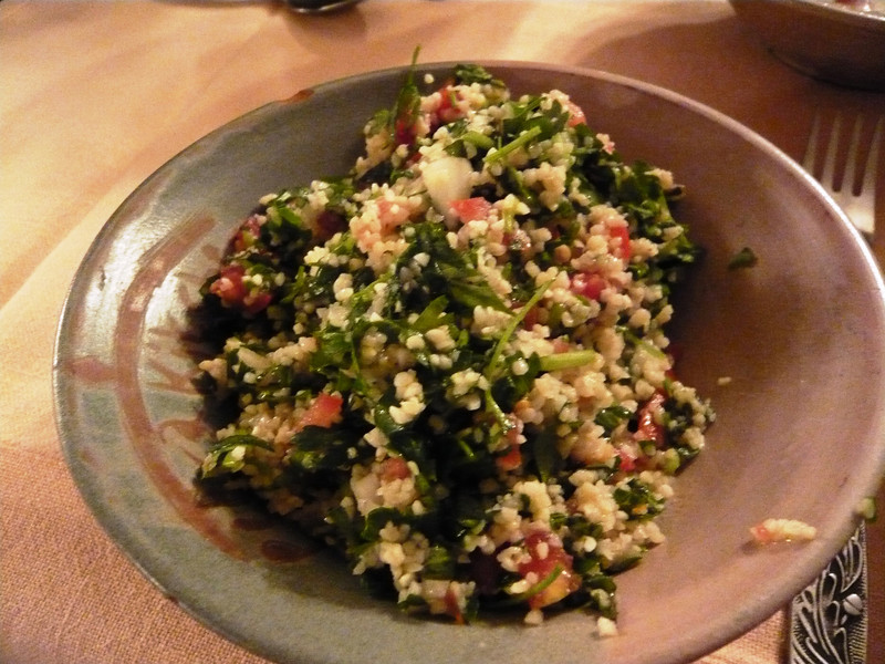 Our Tabbouleh!!