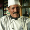 My camera was on the blink but this is a (blurry) photo of the chef who was so kind to share his recipe.