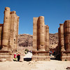 """Petra is often referred to as the """"Rose City."""""""