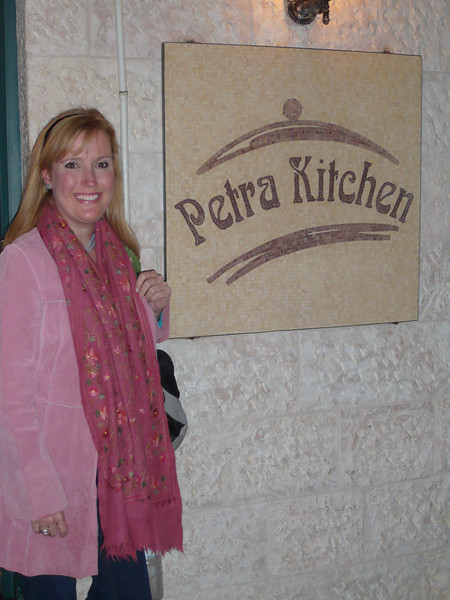 Later that evening a group of us attended a cooking class at the Petra Kitchen.