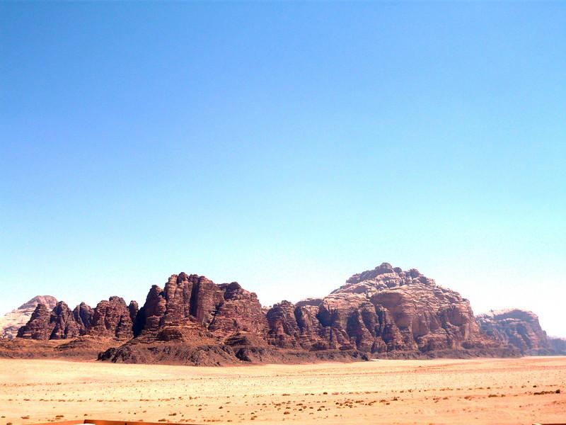 Wadi Rum is truly beautiful.