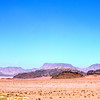 View of the sprawling peaks and valleys of Wadi Rum. This is only a very small area.