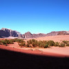 You can also go hiking, camel riding and even spend the night in a tent at Wadi Rum.