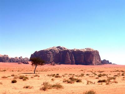 Wadi Rum (Lawrence of Arabia fame), Jordan - April 2009