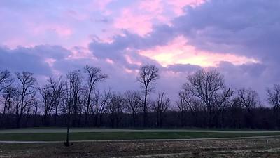 Le soleil se lève sur le golf Landsdowne