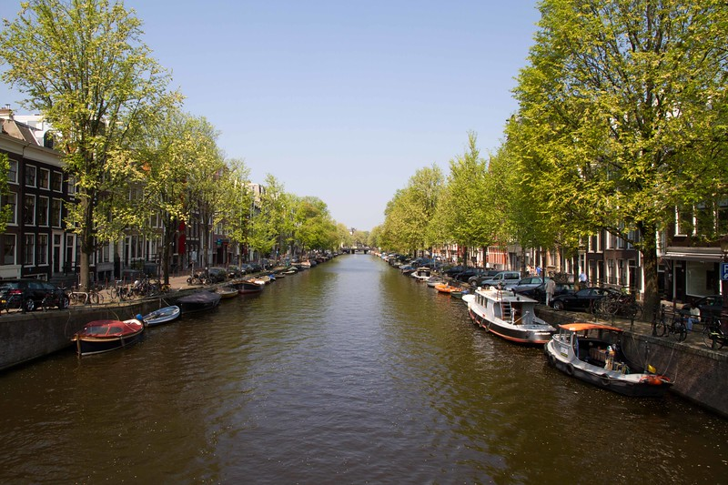 Holland's famous canals