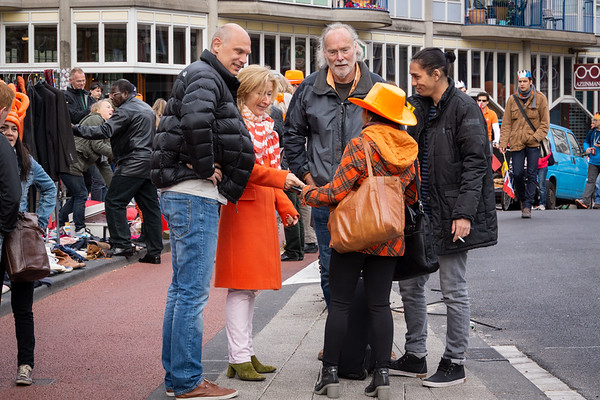 Queens Day, Amsterdam