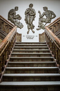 Stairs at the Delft Factory