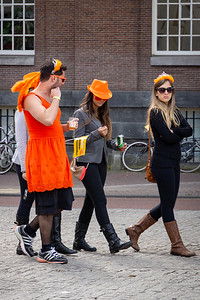 Well it was Queen's Day