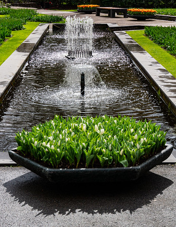 Keukenhof Gardens Fountains