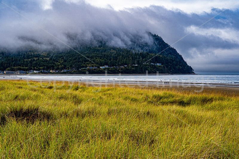 Tillamook head in the clouds