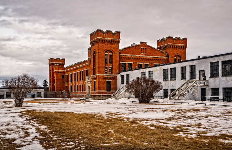 Exterior Old Montana State Prison