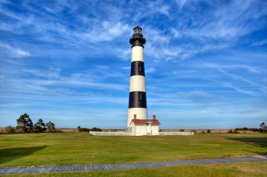 Bodie Lighthouse, Cape Hatteras, NC