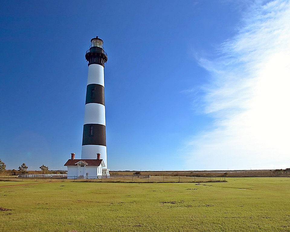 Bodie Lighthouse.  Outer Banks, NC.