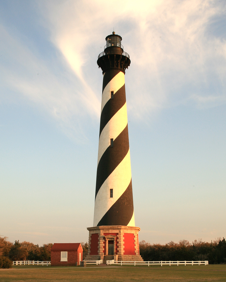 Hatteras Lighthouse.  Cape Hatteras, NC