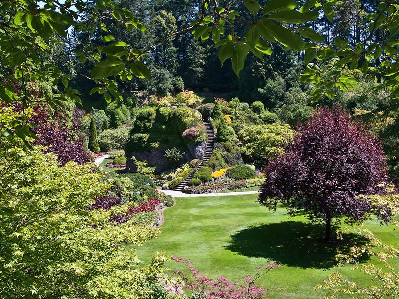 Sunken Garden, Butchart Gardens, BC