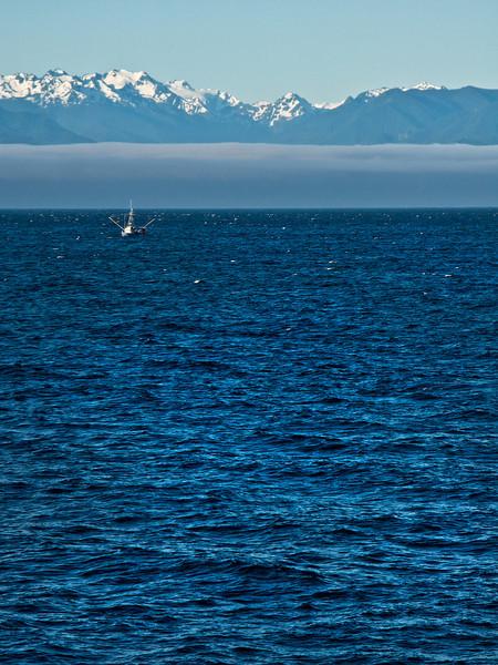 Fishing Boat on the Strait of Juan de Fuca