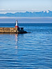 Fisherman on the Strait of Juan de Fuca