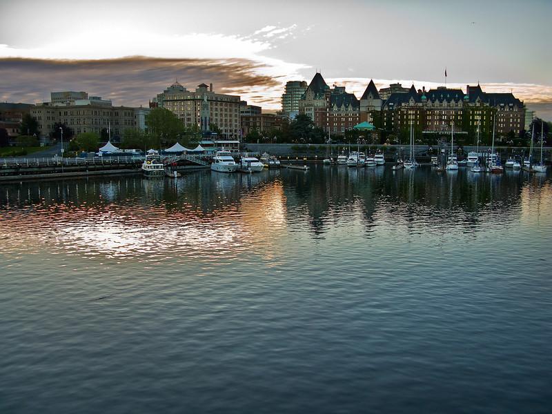 Sunrise on Victoria, BC