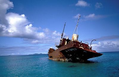 Wreck off Moen Island, Truk Lagoon
