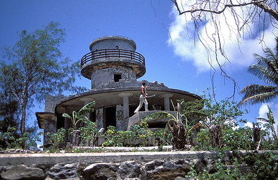 Lighthouse from the Japanese occupation of Truk. Revisited 1984