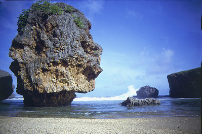Saipan, Old Man of the Sea. March 4, 1984