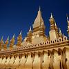 That Luang, Vientiane, Laos.