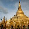 Schwe Dagon Pagoda, Rangoon, Burma (2016).