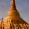 Schwe Dagon Pagoda, Rangoon, Burma (1997).