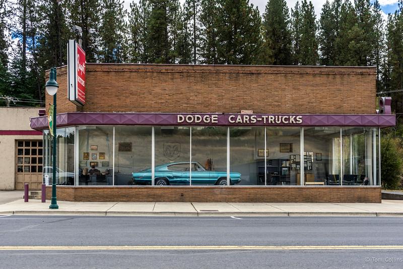Dodge Cars-Trucks in Palouse, Washington.  The Palouse ~ August 2016-03701