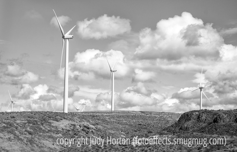 Wind Turbines in Central Washington
