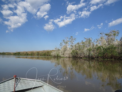 Back out on the Claro River before we leave this lodge.
