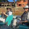 We spent our first night after leaving Cuiaba at the Pantanal Mato Grosso Hotel, where we took our first of dozens of boat trips, this time on the Pixaim River.