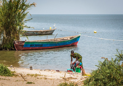 Doing the Laundry at Lake Victoria
